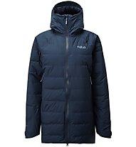 Rab Valiance - parka invernale con cappuccio - donna, Blue