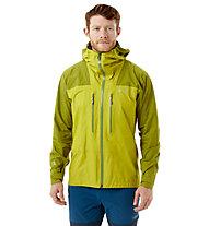 Rab Zenith - giacca in GORE-TEX con cappuccio - uomo, Light Green/Green