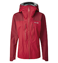 Rab Zenith - giacca in GORE-TEX con cappuccio - donna, Red