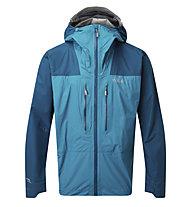 Rab Zenith - giacca in GORE-TEX con cappuccio - uomo, Light Blue