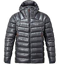 Rab Zero G - giacca in piuma con cappuccio - uomo, Dark Grey