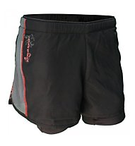 RaidLight Cruissard Trail Laufshort Damen, Black