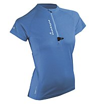 RaidLight Maillot MC SS RunActive Lady Laufshirt Damen, Blue
