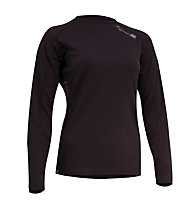 RaidLight Maillot Technical ML Girl - Maglia Running, Black