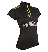 RaidLight Maillot Performer XP - Laufshirt - Damen, Black/Yellow