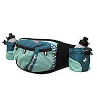 RaidLight Pack Trail Marathon Laufgürtel Damen, Black/Turquoise