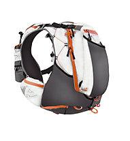 RaidLight Ultra Olmo 20 Trailrunning Rucksack, White/Orange