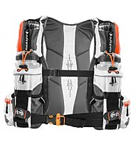 RaidLight Ultra Vest Olmo 5L - zaino trail running, White/Orange