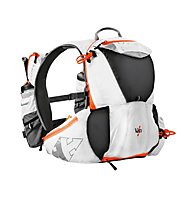 RaidLight Ultra Vest Olmo 5L Trail Running Rucksack, White/Orange