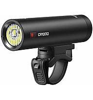 RAVEMEN CR1000 - luce frontale bici, Black