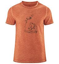 Red Chili Me Erbse - Herren-T-Shirt, Orange