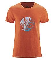 Red Chili Me Satori - T-Shirt - Herren , Orange