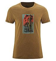 Red Chili Me Satori - T-Shirt - Herren , Brown