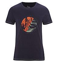 Red Chili Me Satori - T-Shirt - Herren , Dark Blue