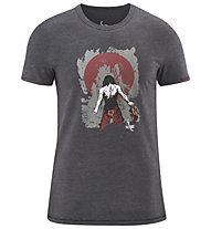 Red Chili Me Satori - Herren-T-Shirt, Grey