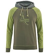 Red Chili Me Tecu Hoody III - Herren- Kapuzen-Sweatshirt, Green