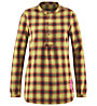 Red Chili Wo Botan - camicia a maniche lunghe - donna, Yellow