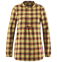 Red Chili Wo Botan - camicia a maniche lunghe - donna, Yellow