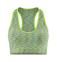 Red Chili Wo Ishi Seamless - Sport-BH - Damen, Green