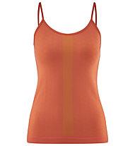 Red Chili Wo Niwa Semless - top arrampicata - donna, Orange