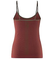 Red Chili Wo Niwa Semless - top arrampicata - donna, Red