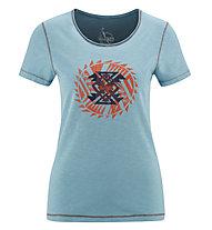 Red Chili Wo Satori - T-Shirt - Damen, Blue