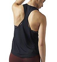 Reebok ActivChill Graphic - Trägershirt Fitness - Damen, Black