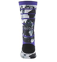 Reebok Printed Crew - Fitness- und Trainingssocken - Unisex, Purple