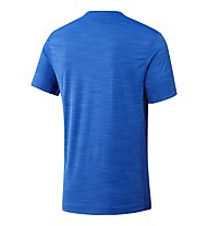 Reebok ActiveChill Zoned Graphic - Trainingsshirt - Herren, Light Blue