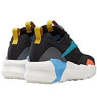 Reebok Aztrek Double Mix Pops - sneakers - donna, Black/Blue/Yellow