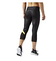 Reebok Cardio Capri Fitness Tights Damen, Black