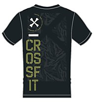 Reebok Crossfit Burnout T-Shirt Herren, Black