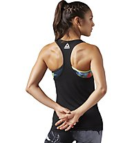 Reebok Crossfit F.E.F Grafic - Top - Damen, Black