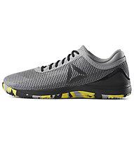 Reebok Crossfit Nano 8.0 - Fitnessschuh - Herren, Grey/Yellow