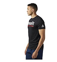 Reebok CrossFit Speedwick F.E.F. Graphic - Trainingsshirt - Herren, Black