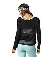 Reebok D Coverup T-Shirt donna, Black