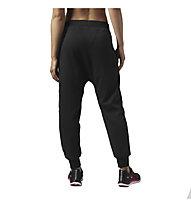 Reebok Dance Drop Crotch Knit Pant Damen, Black