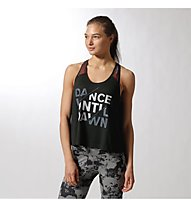 Reebok DF Graphic Tank2 Damen, Black