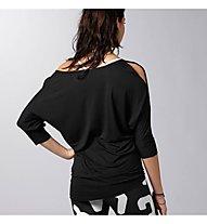 Reebok DF Layer maglia danza donna, Black