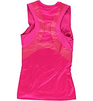 Reebok ET Long Bra Top Donna, Condensed Pink S09