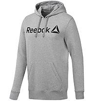 Reebok Graphic Series Training Delta - felpa con cappuccio - uomo, Light Grey