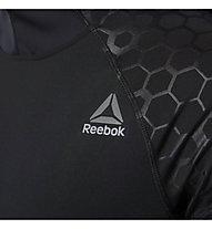 Reebok Hex Reflective Scuba Hood - Trainingsshirt Langarm - Herren, Black