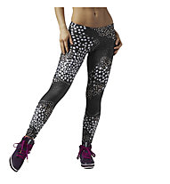 Reebok Leggings Dance Stud donna, Black