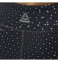 Reebok Lux Tight Cymatics - Fitnesshose - Damen, Black
