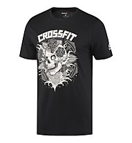 Reebok CrossFit x Mike Giant Skull - Trainingsshirt - Herren, Black