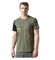 Reebok One Series Activ Chill Breeze Top T-Shirt Herren, Green