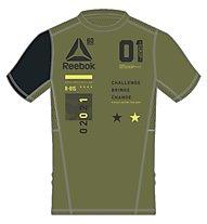 Reebok One Series Activ Chill Breeze Top T-Shirt Herren, Green