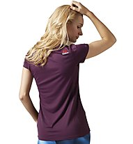 Reebok One Series Activechill - T-Shirt fitness - donna, Purple
