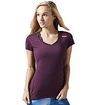 Reebok One Series Activechill - T-Shirt - Damen, Purple