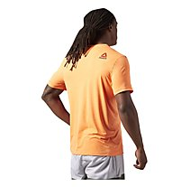 Reebok One Series Advantage SS T-Shirt Männer, Light Orange